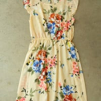 Floral All Over Dress [3828] - $36.00 : Vintage Inspired Clothing & Affordable Fall Frocks, deloom | Modern. Vintage. Crafted.