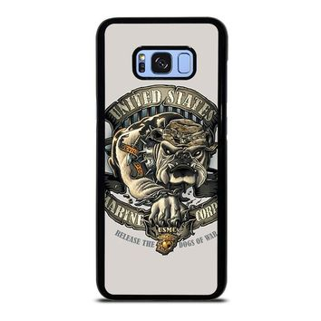 USMC US MARINE CORPS Samsung Galaxy S8 Plus Case Cover