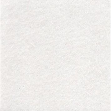 Fluffy White Designer Fabric by the Yard | 100% Cotton