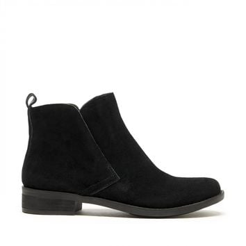Lucky Brand Nightt Suede Ankle Bootie