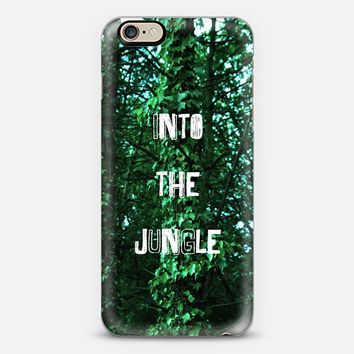 INTO THE JUNGLE iPhone 6 case by austeja platukyte | Casetify