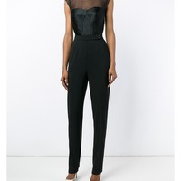 LANVIN | Sweetheart Silk-Blend Jumpsuit | Womenswear | Browns Fashion