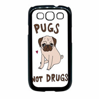 Pug Not Drugs Samsung Galaxy S3 Case
