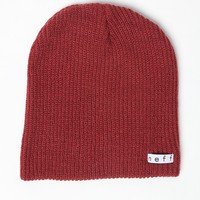 Neff Daily Beanie - Womens Hat - Marsala - One