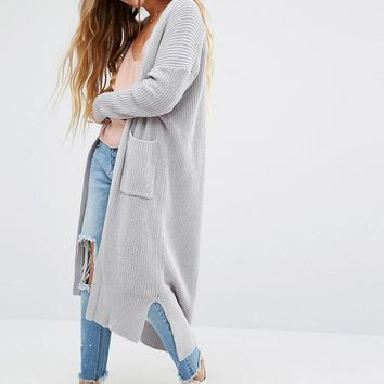 Honey Punch Oversized Longline Cardigan