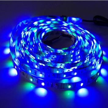 Waterproof multicolor Led Strip Light 16ft long