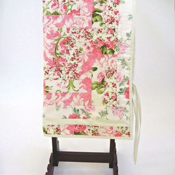 Baby Quilt Stroller Quilt Car Seat Quilt Baby Play Mat in Pinks - One of a Kind - Ready to Ship