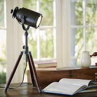 Photographer's Tripod Table Lamp