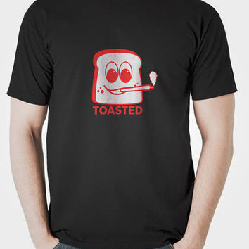 Toasted Cannabis Shirt - Weed Shirt - Stoner T - Graphic T-Shirt