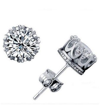 CZ Diamond Stud Earrings Cubic Zirconia Earrings Earrings for Wo fa4d19dc4b