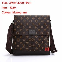 LV Fashionable Casual Leather Man Bag Man's Messenger Bag Shoulder Bag H-MYJSY-BB