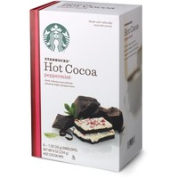 Starbucks Hot Cocoa Mix, Peppermint, 8 Ounce