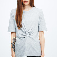 Cheap Monday Twist Tee in Grey - Urban Outfitters