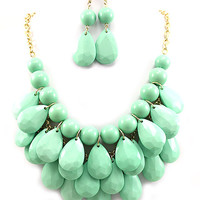 3 Row Smaller Bubble Necklace: Multiple Colors