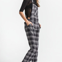 Collins Plaid Overall