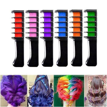 1Pcs Mini Disposable Personal Salon Use Temporary Hair Dye Comb P