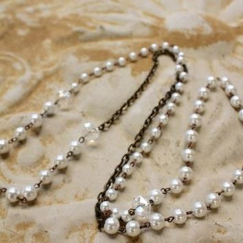 Pearling layering beaded Necklace