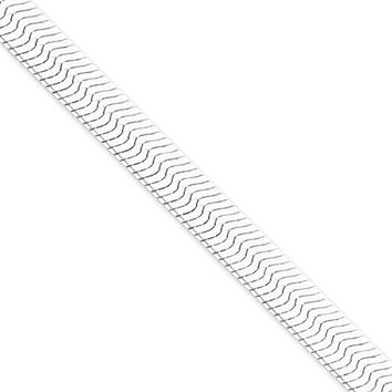 Men's 8.75mm, Sterling Silver Solid Herringbone Chain Necklace, 20in