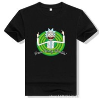 Rick and Morty Worlds Folks Tee