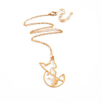 wild thing GOLDEN FOX pendant