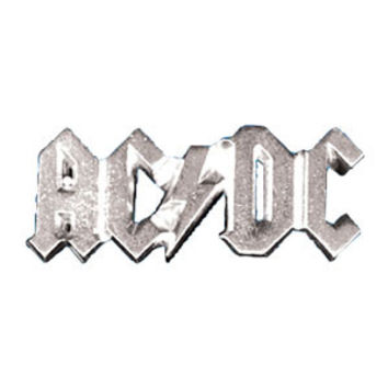 AC/DC Men's Belt Buckle Grey