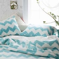 Magical Thinking Geo Chevron Duvet
