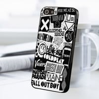 5sos Coldplay Fall Out Boy The Vamps 1975 iPhone 5 Or 5S Case