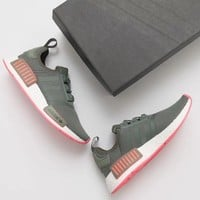 Adidas NMD R1 Boost Green/Pink Sneakers