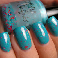 On Sale 25% Off FULL SIZE Turq-ish Delight Turquoise Nail Polish