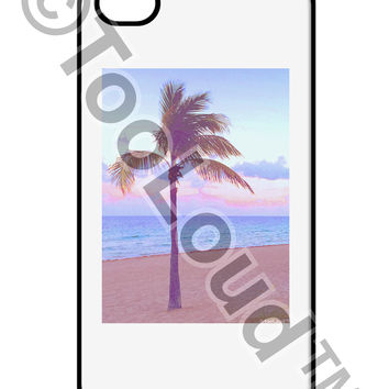 Palm Tree Beach Filter iPhone 4 / 4S Case