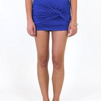 She's Electric Skirt: Cobalt Blue [PFM24-SHK01] - $28.99 : Spotted Moth, Chic and sweet clothing and accessories for women
