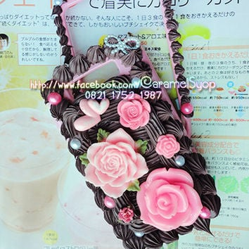 Whipped Cream Kawaii Decoden case for Blackberry Torch 9800 / Jennings 9810