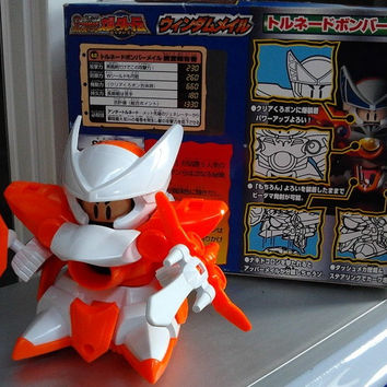 Takara Super Battle B-Daman Bomberman Bakugaiden No 42 Plastic Model Kit Figure