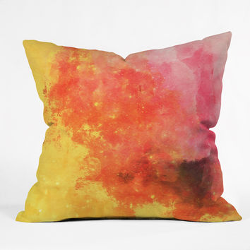 Allyson Johnson Early Sunset Throw Pillow