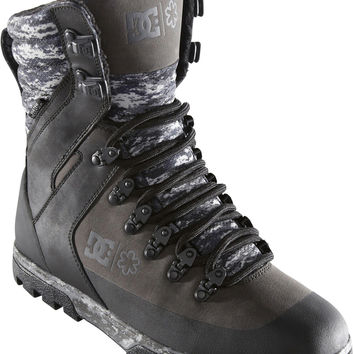 DC Colter SPT Water Resistant Boots - Black/Camo Print