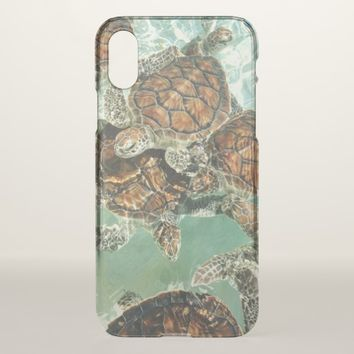 Turtles in Mexico (Kimberly Turnbull Photography) iPhone X Case