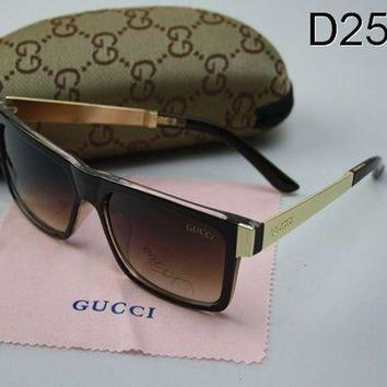 GUCCI Stylish Women Man Retro Sun Shades Eyeglasses Glasses I