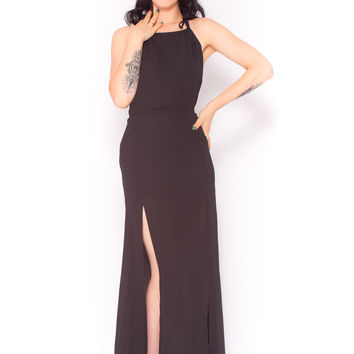 Lorde Maxi Dress In Black