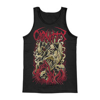 Carnifex Men's  Hell Chose Me Mens Tank Black Rockabilia