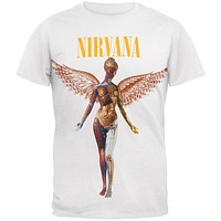Nirvana - In Utero Logo T-Shirt