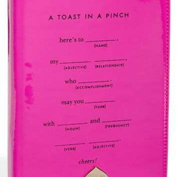 kate spade new york 'toast in a pinch' iPad mini folio | Nordstrom