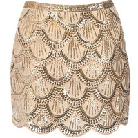 Flapper Riches Skirt | Women's Bottoms | RicketyRack.com