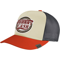 Johnny Cash Men's  Cash Trucker Cap Multi