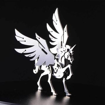 Unicorn Removable Stainless Steel All-metal Puzzles