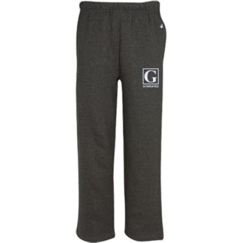 Open Bottom Sweat Pant with Pockets