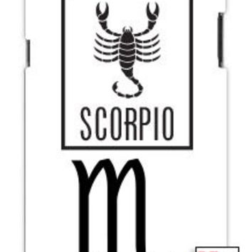 Scorpio Sign Zodiac Horoscope Symbol Unique Quality Hard Snap On Case for Samsung Galaxy S4 I9500 - White Case