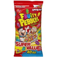 Post Fruity Pebbles Sweetened Rice Cereal Super Value!, 40 oz - Walmart.com