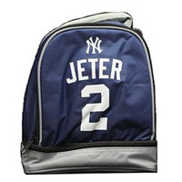 NEW YORK YANKEES JETER D. #2 DOUBLE COMPARTMENT LUNCH COOLER