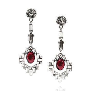 Café Society Statement Drop Earrings
