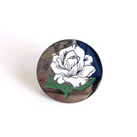 Rose Token Lapel Pin